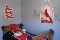 Boys St.Louis bedroom
